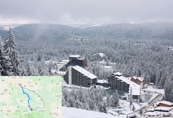 taxi transfer from Sofia to Borovets