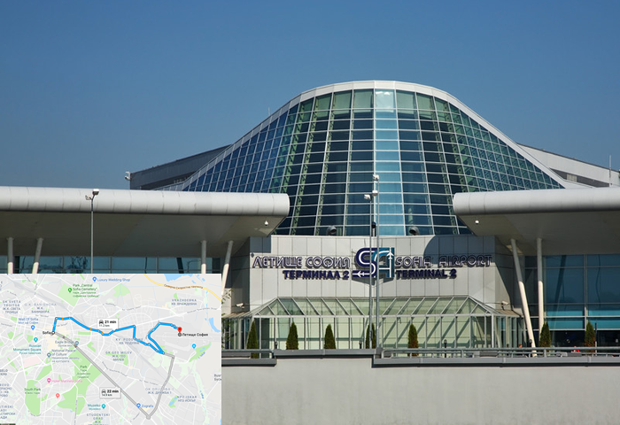 taxi transfer from Sofia Airport to Sofia