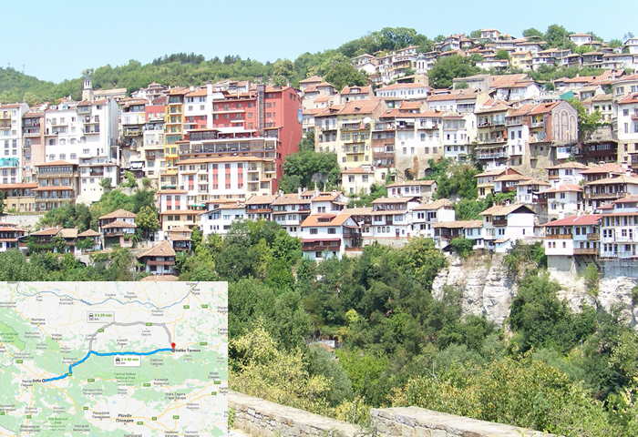 taxi transfer from Sofia to Veliko Tarnovo